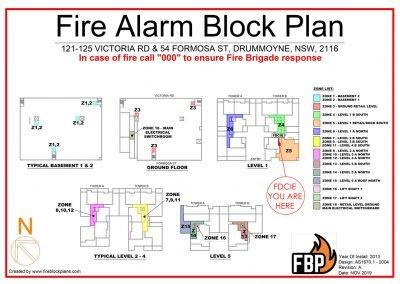 Zone Block Plan