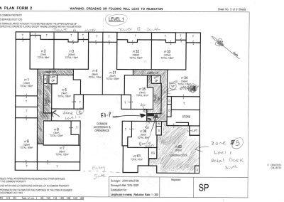 Fire Zone Block Plan