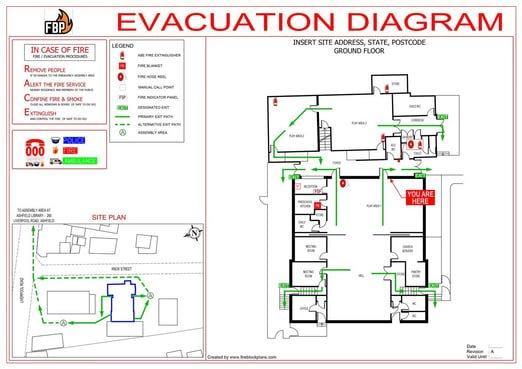 Evac Diagram